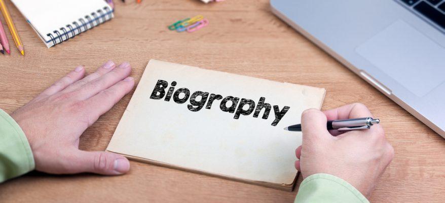 come scrivere una biografia